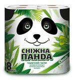 Туалетная бумага PANDA Classic 2 слоя 20.8м*8