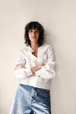 Блуза ZARA Белый 5598/046/250 zara