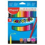 Карандаши цветные MAPED Star, 18 цветов