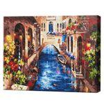 Канал Венеции, 40х50 см, картина по номерам Артукул: GX33274