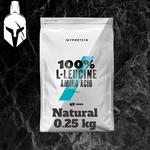 100% L-Leucine - Натуральный вкус - 0.25 KG
