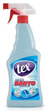 Активная пена для очистки известкового налета с ванны TEX 750мл