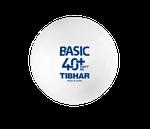 Мяч для настольного тенниса Tibhar Basic 40+ SYNNT NG (863)