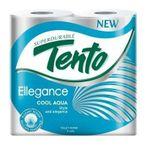 Туалетная бумага TENTO 3 слоя 18м*4 Cool Aqua