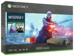 Microsoft Xbox One X 1TB with Battlefield 5 Delux Edition
