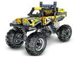 5804, XTech Bricks: Pull Back Off-Road Vehicle, 199 pcs