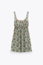 Платье ZARA Принт цветочек 7971/197/098