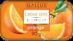 Крем - мыло Gallus 90g с ароматом апельсина