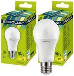 Светодиодная лампа Ergolux LED A60 17W E27 3000K 13179