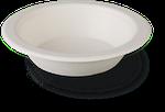 Тарелка суповая из сахарного тростника 160*37 мм