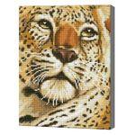 Портрет гепарда, 30x40 см, алмазная мозаика Артукул: QS200640
