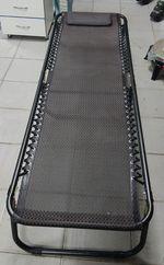 Раскладушка кровать для кемпинга, складная в 2 - Лежак