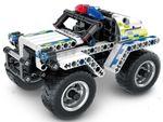 5805, XTech Bricks: Pull Back Police Car, 199 pcs