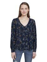 Блуза TOM TAILOR Темно синий