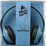 Наушники CellularLine MusicSound Blue