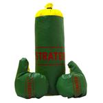Набор боксерский детский (груша + перчатки, d=14 см, l=40 см) 2020 (3911)