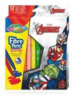 Набор фломастеры 12 цветов - Colorino Disney Avengers