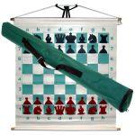 Шахматная доска демонстрационная с фигурами 68х68 см DD01A (5235)