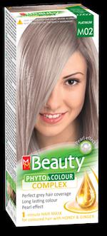 Краска для волос,SOLVEX MM Beauty, 125 мл., M02 - Платина