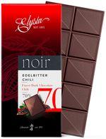 Ciocolată neagră cu cili Elysia 70% 1895 100g