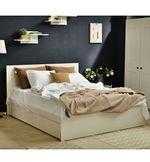 Кровать Linia Uno Белый Ясень