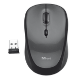 Wireless Mouse Trust Yvi, Black