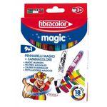 Фломастеры Fibracolor Magic 9+1 цветов