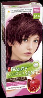 Краска для волос,SOLVEX MM Beauty Sense, 125 мл., S14 - Спелая вишня