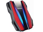 1,0 ТБ (USB3.2) 2,5 дюйма ADATA HD770G RGB IP68, защищенный от воды / ударов / пыли, красный (AHD770G-1TU32G1-CRD)