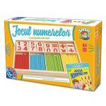 Настольная игра Jocul numerelor cu piese din lemn, код 41171