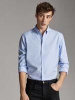 Рубашка Massimo Dutti Голубой 0156/118/403