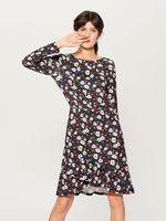 Платье MOHITO Черный в цветочек vd865-99x