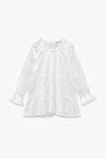 Блуза ZARA Белый 5770/026/052 zara