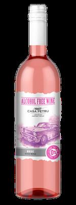 Вино безалкогольное Casa Petru Alcohol Free Розе