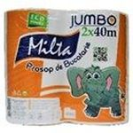 Полотенца бумажные Jumbo 40м*2 центральная вытяжка