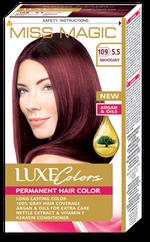 Краска для волос,SOLVEX Miss Magic Luxe Colors, 108 мл., 109 (5.5) - Красное дерево