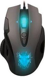 Игровая мышь Qumo Devastator, оптическая, 1200-3200 dpi, 8 кнопок, Soft Touch, 7-цветная подсветка, USB