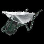 Тачка строительно-садовая одноколесная DETEX