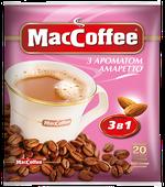 MacCoffee 3в1 Амаретто (20пак в упаковкек)