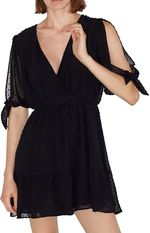 Платье ZARA Чёрный 8022/203/800