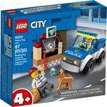 LEGO City Полицейский отряд с собакой, арт. 60241