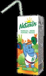 Naturalis нектар яблоко-морковь 0,2 Л