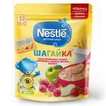 Каша 5 злаков земляника-малина-яблоко с молоком Nestle Шагайка, с 12 месяцев, 200г