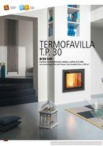 Термокамин пеллетный - CLAM TERMOFAVILLA T.P.30