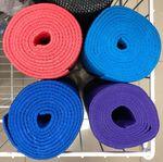 Коврик для фитнеса + чехол 173х61х0.4 см PVC 60013 (2619)