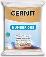 Полимерная глина CERNIT N1 56г, охра №746