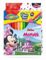Набор фломастеры 12 цветов - Colorino Disney Minnie Mouse