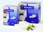 Брынза AKADIA DANISH WHITE 200 г. (tetra pak)