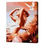 Единение с природой, 40х50 см, картина по номерам Артукул: GX35047