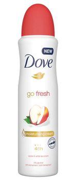 Антиперспирант Dove Go Fresh с ароматом яблока и белого чая, 150 мл